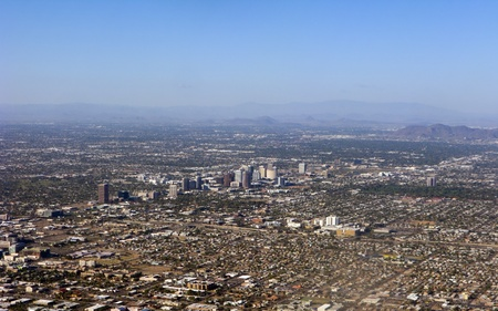 Arizona capital city of Phoenix photo