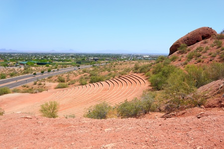 Papago Park Amphitheater, Scottsdale, Arizona photo