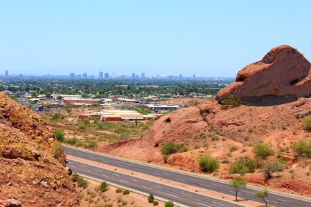 Gran Phoenix Metro, el parque Papago, Arizona photo