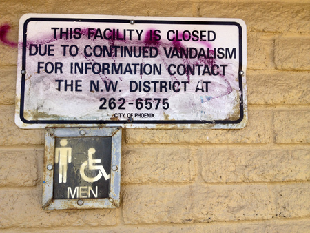 vandalism: Quick solution by city authorities to continued issue with vandalism in Cortez park, Phoenix, Arizona