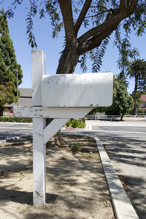 mail box: Road side home owner US Postal Service mail box, Camarillo, CA