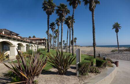 breezy: Inviting freshness of breezy ocean Mandalay beach, Oxnard, California Stock Photo