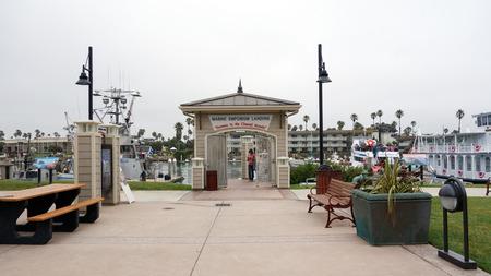 OXNARD, CA, USA - JULY 4, 2013: Marina in City of Oxnard, gateway to the Channel Islands of Calrifornia coast in Ventura county