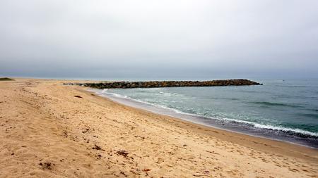 San Buena Ventura city beach near Harbor Village, Southern California