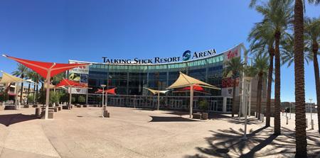 Phoenix, AZ, USA - September 21, 2017: Talking Stick Resort Arena on Phoenix Downtown, Arizona