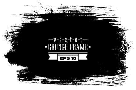 grunge frame: Vector grunge frame