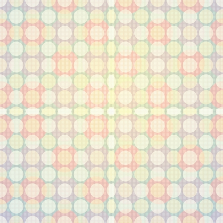 Polka Dot Pattern Vector  Vector