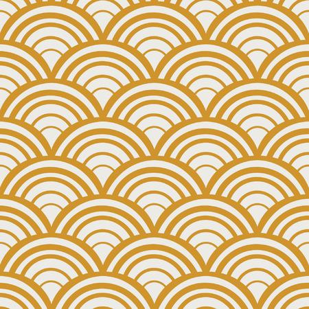 Vintage Art Deco Seamless Pattern.