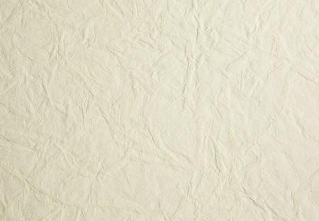 papel artesanal: Fondo de color blanco cremoso arrugado papel de arroz
