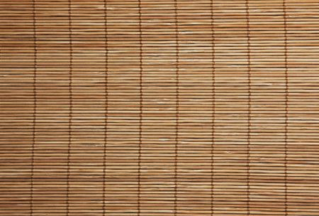 Background texture of a bamboo placemat close up