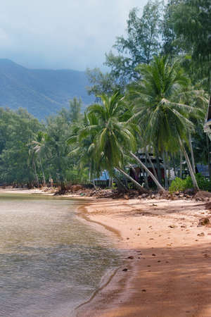 Chaloklum Beach on Koh Phangan Island, Thailand
