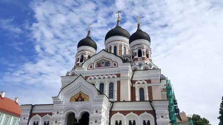 alexander: Alexander Nevsky Cathedral in Tallinn, Estonia, Europe