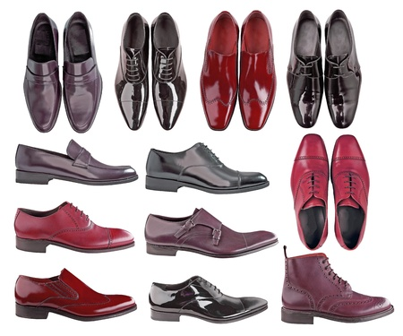 shiny suit: men shoes collection