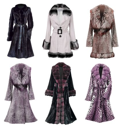 fur coat collection photo