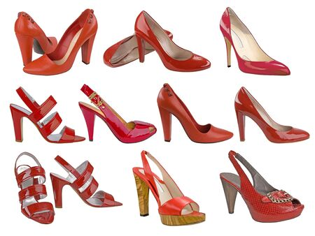 red shoes collection photo