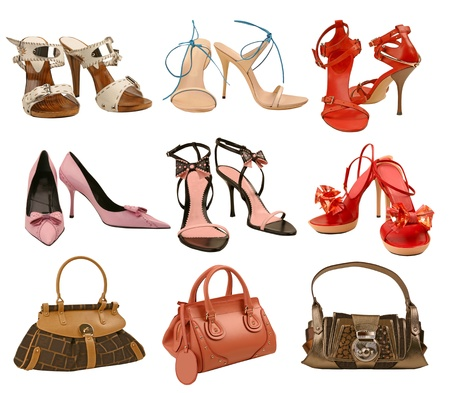 shoes and bag collection photo