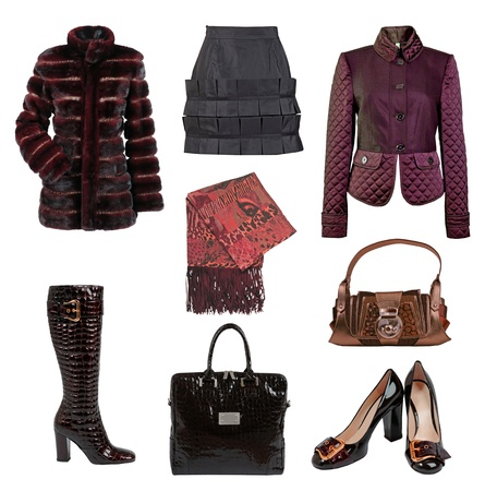 winter clothes for women photo