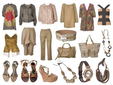Sammlung Kleid und Kleider Lizenzfreie Bilder