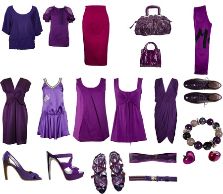 violet clothes collection