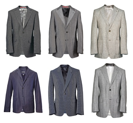 cotton dress: men jacket