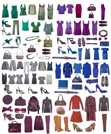 clothes collection Stock Photo - 11514468