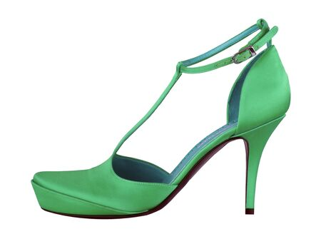 green shoe Stock Photo - 11558043