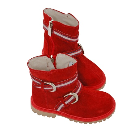 red boots Stock Photo - 11805786