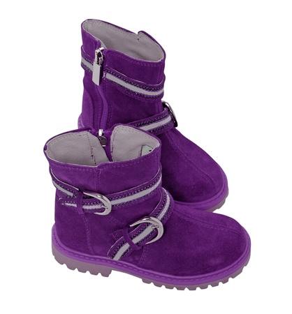 violet boots photo