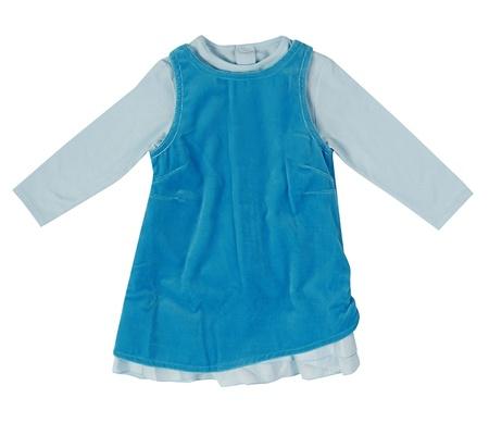blauen Kleid Lizenzfreie Bilder