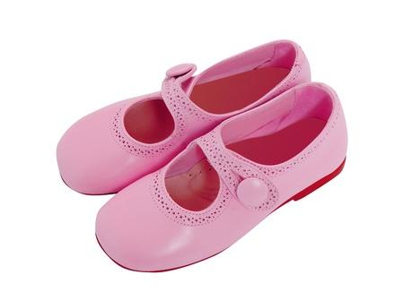 pies bailando: zapatos de color rosa