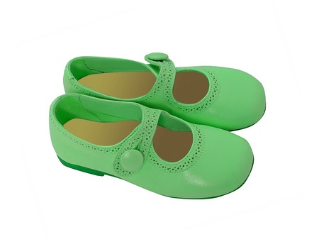 green shoes photo