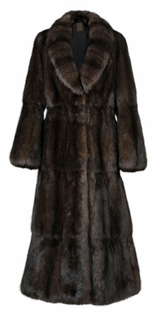 fur coat photo
