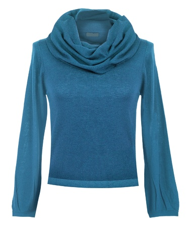 blue sweater photo