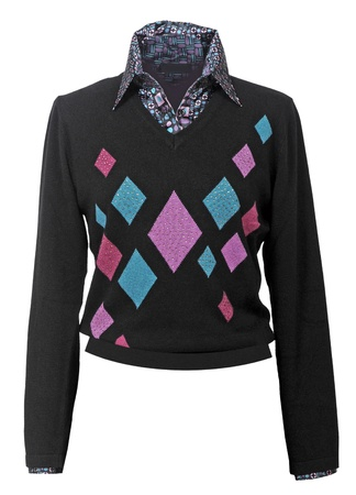 black sweater photo