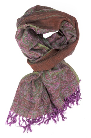 brown scarf photo