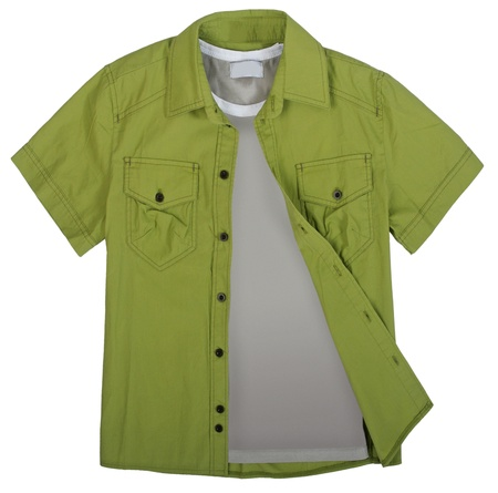 green shirt photo