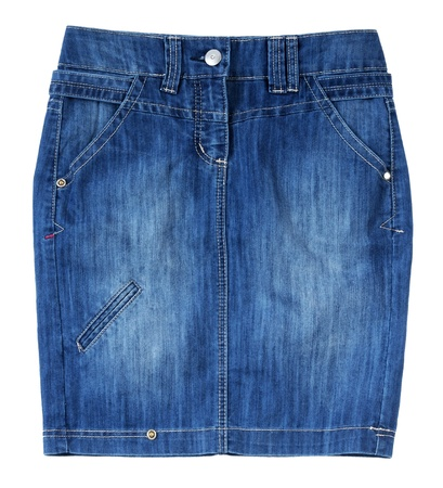denim skirt: blue jeans skirt
