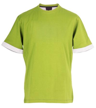 green t-shirt photo