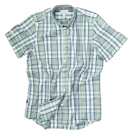 checkered polo shirt: men shirt
