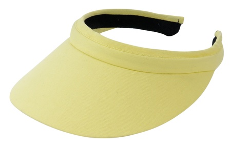 yellow visor