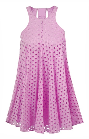'rig out': pink sundress