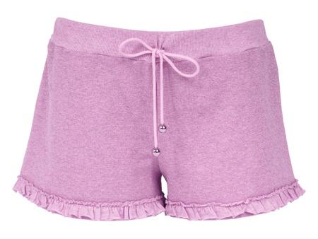 cotton panties: pantalones cortos de color rosa Foto de archivo
