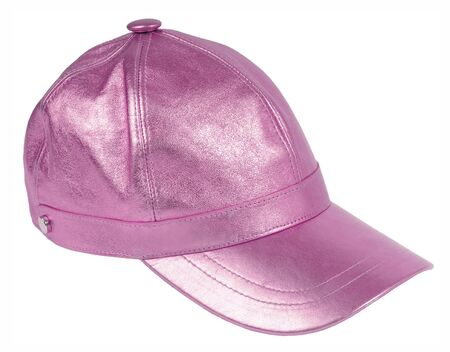 pink peaked cap photo