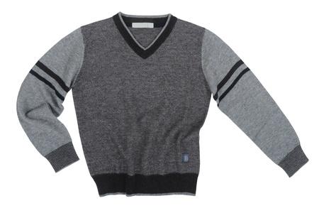 grauen Pullover