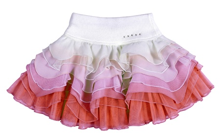 'rig out': mini skirt