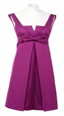 'rig out': violet dress