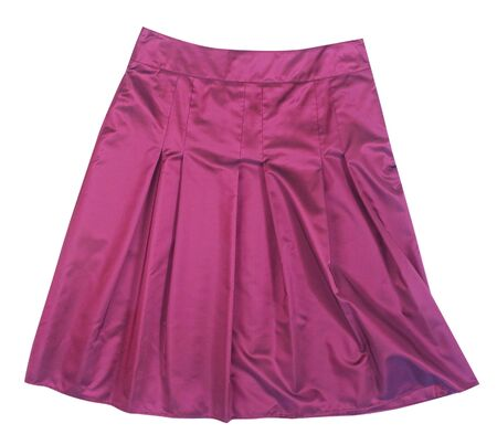 'rig out': pink skirt