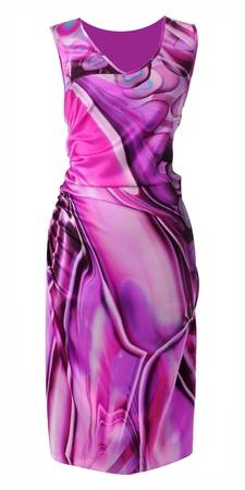 'rig out': violet sundress