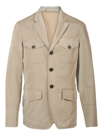 beige jacket photo