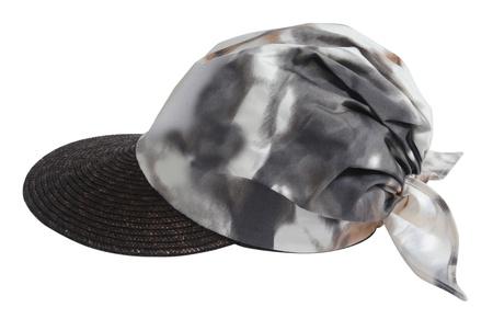 peaked cap: peaked cap isolated on white Stock Photo